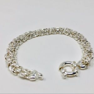 Jewelry - 🆕 Sterling silver bracelet, made in Italy, 13g